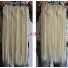 Широкая прядь цвет №613 блонд с желтинкой