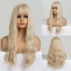 Парик блонд белый блондинка локоны