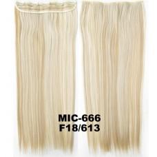 Широкая прядь цвет №F18/613 мелирование блонд