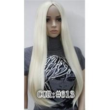 Парик без челки  блонд №1046