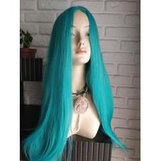 парик голубой морской