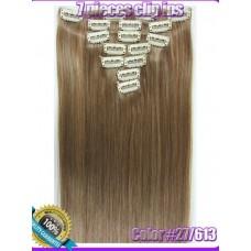 Волосы на заколках цвет №27/613